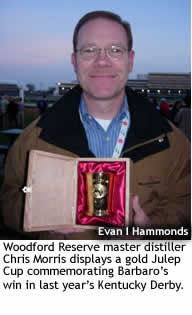 Chris Morris, Woodford Reserve Master Distiller