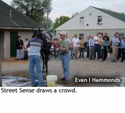Street Sense gets a bath