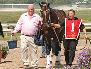 A. U. Miner before winning the 2010 Greenwood Cup.