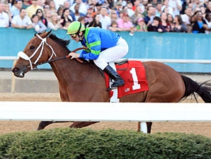 Absinthe Minded wins the 2011 Bayakoa Stakes.