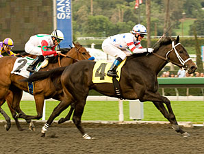 Amen Hallelujah wins the 2010 Santa Ynez.