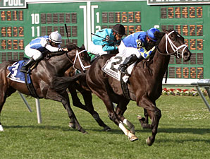 Artisanal wins the Little Silver Stakes.