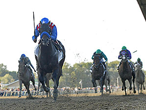 Bayern wins the 2014 Pennsylvania Derby.