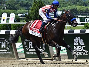 Bayern wins the 2014 Woody Stephens Stakes.