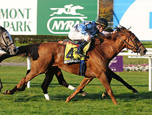 Belle Allure wins the 2009 Athenia.