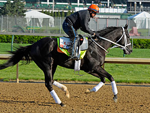 Black Onyx - Churchill Downs, April 30, 2013.