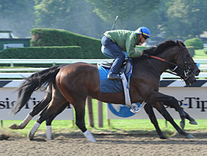 Blame works at Saratoga on August 1, 2010.