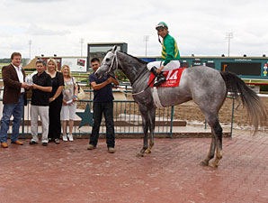 Boca Bay wins the 2012 Texas Stallion Stakes - Stymie Division