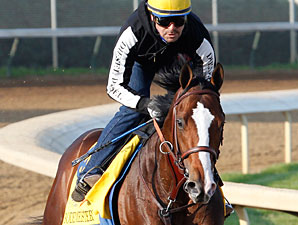 Bodemeister at Churchill Downs 4/22/2012