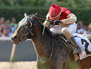Bourbonize wins the 2014 Northern Spur.