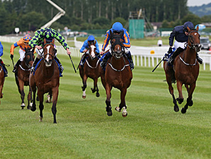 Bracelet wins the 2014 Darley Irish Oaks.