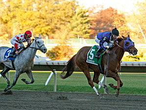 Breathoffreshheir wins the 2010 Jersey Juv. Fillies.