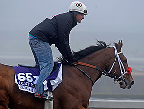 Broadway Empire at Breeders' Cup.