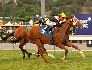 Broken Dreams wins the 2012 Senator Ken Maddy Stakes.
