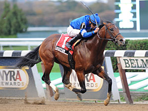Buffum wins the 2012 Bold Ruler.