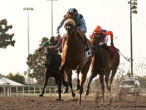 Byrama wins the 2013 Vanity Handicap.