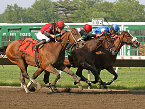 C C's Pal wins the Monmouth Beach Stakes.