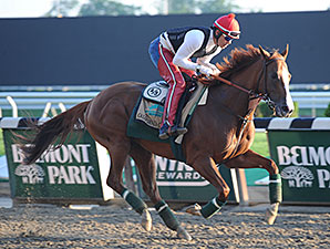 California Chrome - Belmont Park,  May 25, 2014