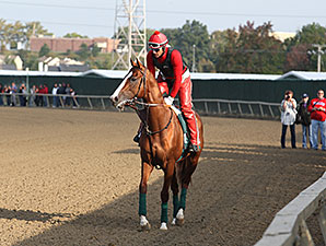 California Chrome, Parx Racing, September 19, 2014