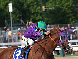 California Chrome wins the Preakness Stakes