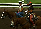 California Chrome Work 8/8/14