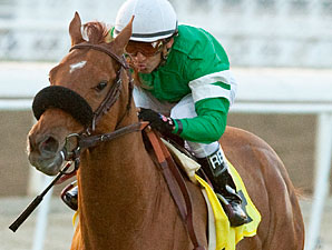 Caracortado wins the Daytona Stakes.