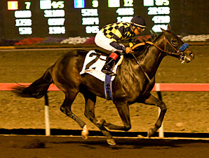 Carving wins the 2012 C. B. Afflerbaugh Stakes.