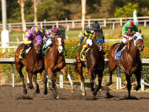 Carving wins the 2012 Real Quiet.