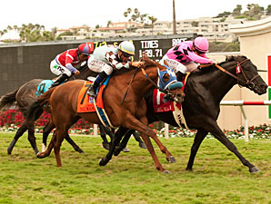Casino Host wins the 2012 Del Mar Handicap.
