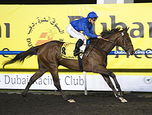 Cat O'Mountain wins the 2014 Dubai Duty Free Tennis Championships.