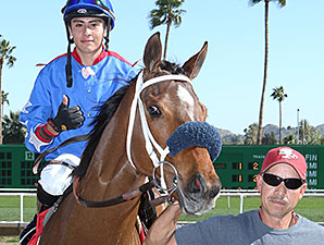 Cavour wins the 2014 Tempe Handicap.