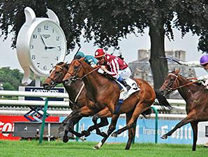 Charm Spirit wins the Prix Jean Prat.
