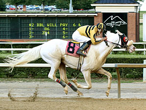 Chief White Fox Maiden Win, July 1, 2013.