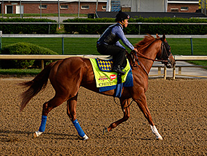 Chitu preps for the Kentucky Derby on April 27.