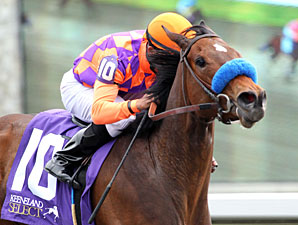 Ciao Bella Luna wins the 2013 Beaumont Stakes.