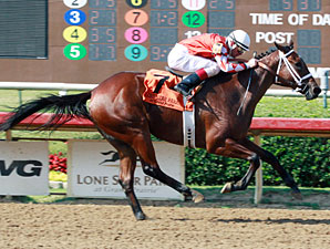 Closing Report wins the 2013 TTA Sales Futurity.