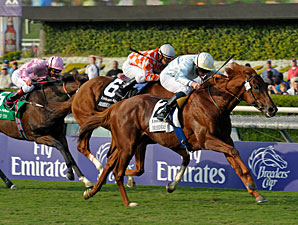 Conduit wins the 2009 Breeders' Cup Turf.