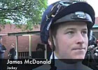 Cox Plate Preview - Jockey James McDonald