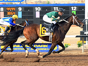 Daddy Nose Best wins the Sunland Derby.