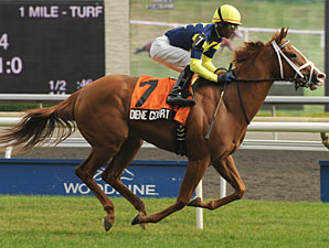 Dene Court wins the 2012 Ontario Damsel Stakes.