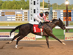 Desert Ransom wins a Trial at Evangeline Downs on July 7, 2012.