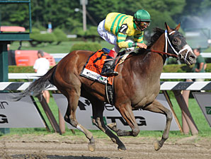 Devil May Care wins the 2010 CCA Oaks.