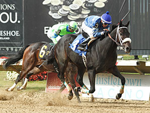 Diavoletto wins the 2013 Best of Ohio Sprint Stakes.