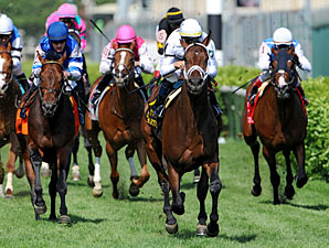 Doubles Partner wins the 2010 American Turf.