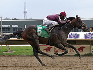 Easter Gift allowance race, beating Belmont Stakes winner Ruler on Ice.