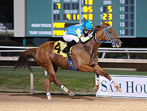 Edplicit wins the 2015 Spirit of Texas Stakes.