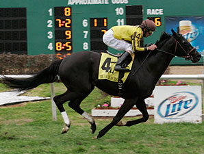 El Caballo with Robby Albarado aboard wins the Grade III Col. E. R. Bradley Handicap at Fair Grounds.