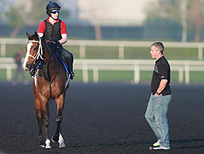 Elleval and David Marnane at Meydan March 24.