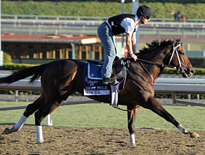 Emcee at Santa Anita 10/29/2012.
