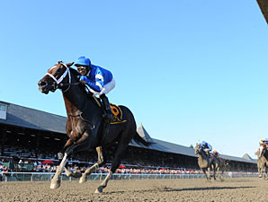 Emcee wins the 2012 Forego.